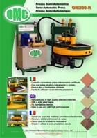 Pressa Semi-Automatica Mod. OM200-R