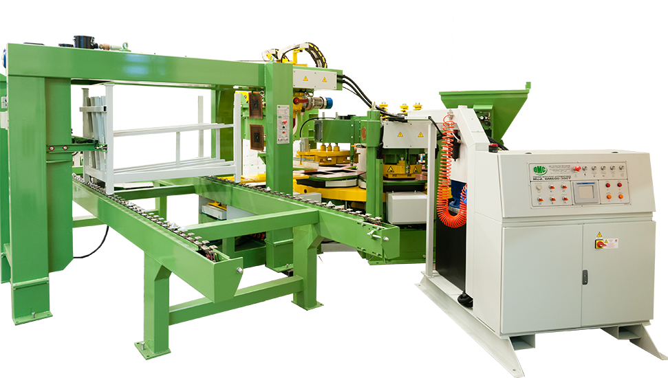 Presse Rotative Automatique Mod. OM600-300T