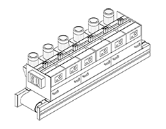 Levigatrice Lucidatrice Mod. OM800/6