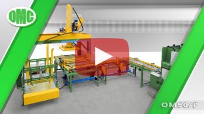 Movimentatore Automatico Per La Pallettizzazione Mod. OM50/P