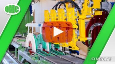 Linea Di Levigatura Automatica con Mod. OM50/S e OM800/6 (25x25x8)