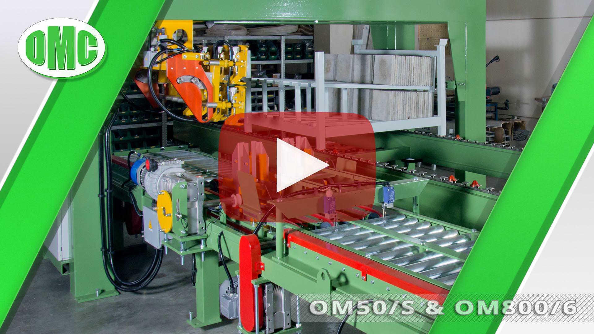 Linea Di Levigatura Automatica con Mod. OM50/S e OM800/6 (33x33x4)