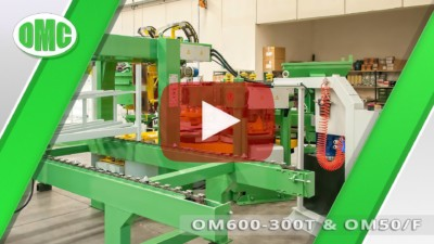 Automatic Rotational Press Mod. OM600-300T with Mod. OM50/F (33x33x2)